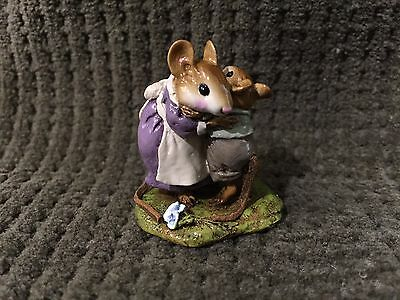 Wee Forest Folk M-229a A Big Hug Plum Dress Mint
