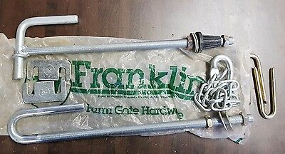 Franklin Complete Farm Gate Hinge and latch set