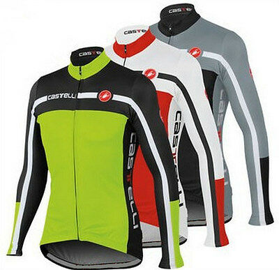 New Style Men Cycling Jersey Bicycle Sportswear Long Sleeve Top Cycling Clothing