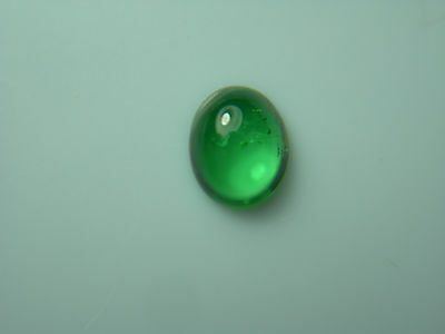 rare Tsavorite Green Garnet gem Cab Grossular Natural oval Untreated gemmy Z34