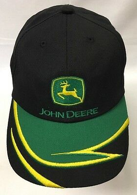 John Deere Youth Hat Childrens Kids Farm Tractor Vintage Logo Baseball Cap NICE