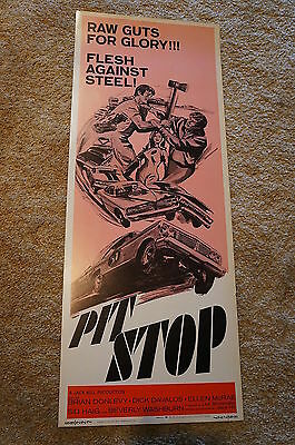Pit Stop   Car Racing  Insert   1969