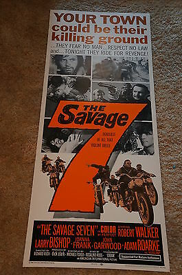 Savage 7  Aip  Bad Bikers  Motorcycles  Insert  1968