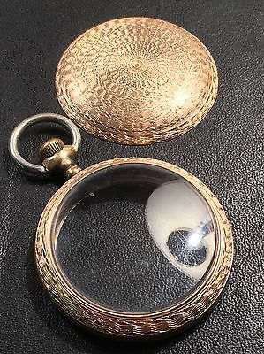 Gold Filled Pocket Watch American Pocket Watch Size 18 Engine-turned Rare