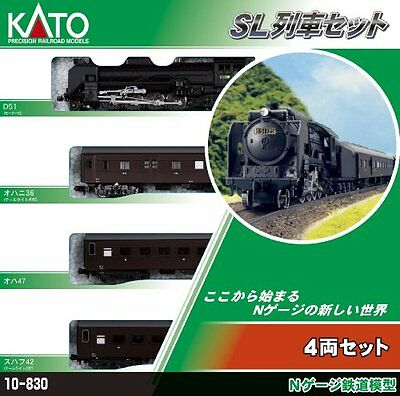 Kato SL Train N (4-Car Set) (Model Train)