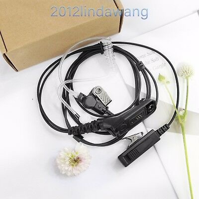 2-Wire Headset Mic for Motorola APX4000 DGP4150 DP3400 XiR P8200 Walkie Talkie