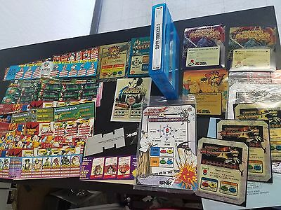NEO GEO Stickers & Marquees + MVS Game ORIGINAL SEE PICTURESS **FREE SHIPPING**