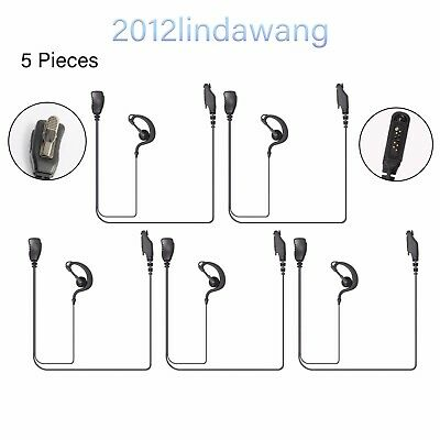 5X Earloop Headset Earpiece for Kenwood TK-2312 TK3312 TK-3201 TK-D240E Radio