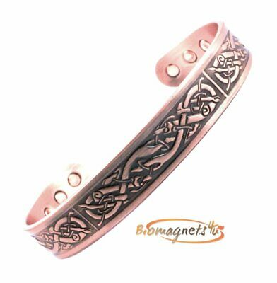 Mens Pure Solid Copper Bio Magnetic Healing Blt-Arthritis Pain Relief- Small