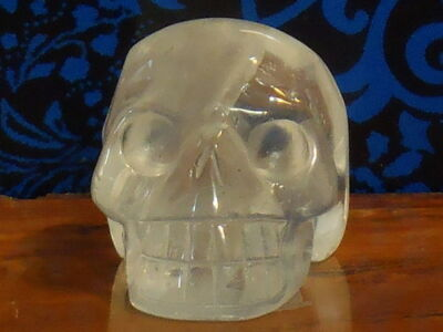 Natural Clear Quartz Skull (4x3cm)