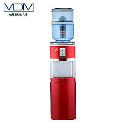 New Red Floor Stand Water Cooler Purifier Dispenser Hot Cold & Ambient Awesome