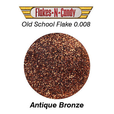 Metal Flake Glitter (0.008) Custom Metal Flakes 30G Antique Bronze