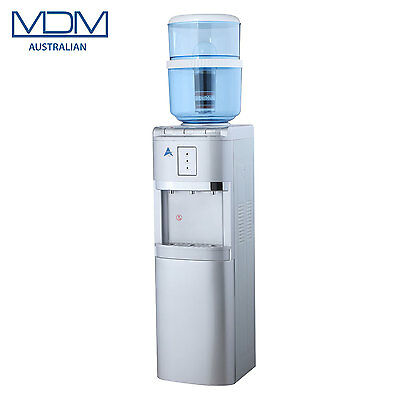 New Silver Floor Stand Water Cooler Purifier Dispenser Hot Cold & Ambient Awesom