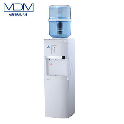 New White Floor Stand Water Cooler Purifier Dispenser Hot Cold & Ambient Awesom