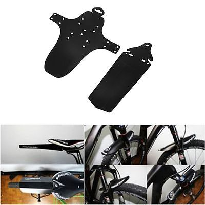 Mountain MTB 360 Degree Torsion Front Rear Mudguard Mud Guards Bicycle Fenders