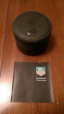 Tag Heuer Travel watch box with papers. No reserve auction