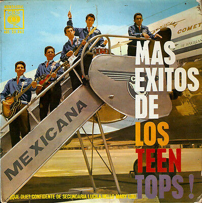 Los TEEN TOPS,Hello Mary Lou, sung in  SPANISH EP.Top Mexican Rock 'n Roll group