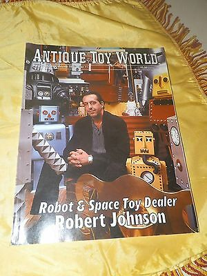 November, 1999 Antique Toy World Magazine-Lots of Robot and Space Toy Related