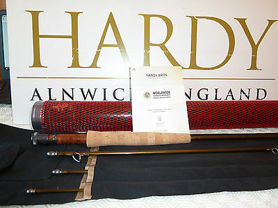 """HARDY ARTISAN 9' 6"""" (9ft 6in 7wt) #7 FLY FISHING TROUT ROD - BRAND NEW"""