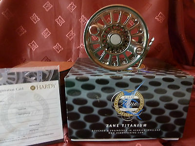 Hardy Zane Titanium Limited Edition Fly Fishing Reel Number #20 -