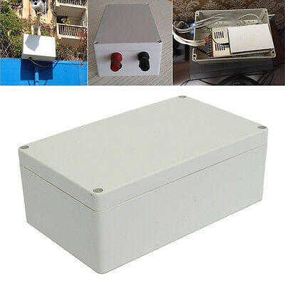 Waterproof ABS Electronics Junction Project Box Enclosure Instrument Case+Screw