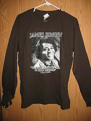 James Brown - The Godfather of SoulSoul Brother No.1 Long Sleeve Shirt (Medium)