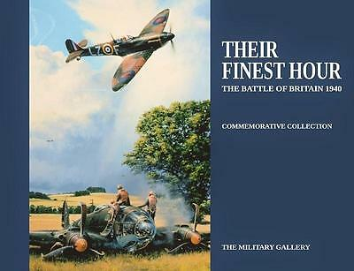 WW2 Military Aviation Art Book: Their Finest Hour - Battle Of Britain -New Copy
