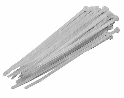 White Cable Ties 2.5 X 100mm Pack of 100 Buy 2 Get 1 FREE