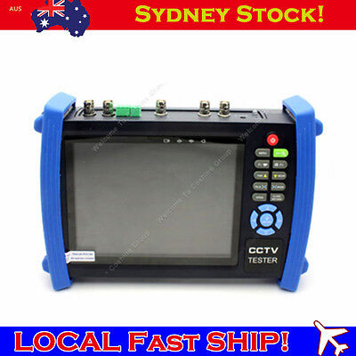 "7"" 1024×600 CCTV Cam Monitor Video DVR Tester VGA+HD-SDI In/Out+TDR HVT-3600ST B"
