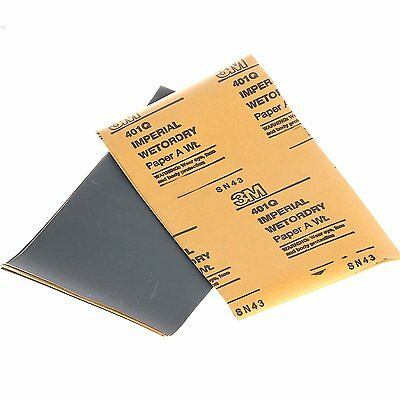 10pcs 3M 2500 grit abrasive sanding sheet is wet and dry abrasive pad