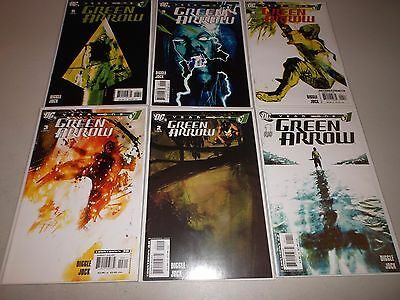 Green Arrow: Year One #1-6 ( Complete 2007  series) Full lot set run 1 2 3 4 5 6
