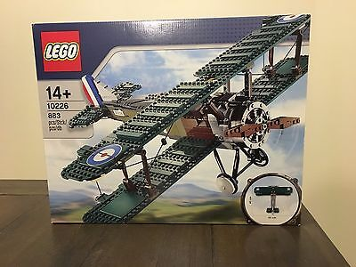 LEGO 10226 Creator Sopwith Camel - Brand New In Box - FREE EXPRESS POST
