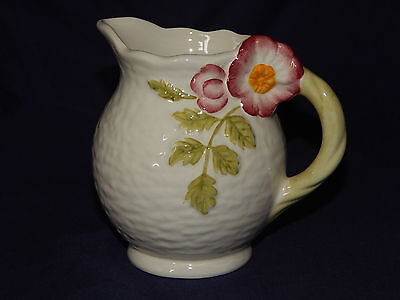 Shorter And Son Wild Rose Jug With Certificate Of Authenticity