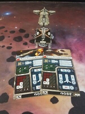 Star Wars Armada - Phoenix Home Modified Pelta Ship Barebones NO UPGRADE CARDS