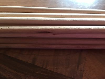 A-GRADE HARDWOOD DOWEL 22x60cm Long 6mm Wide