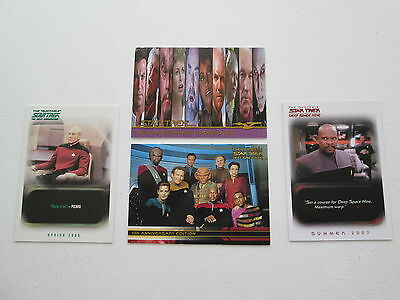 Mixed Lot of Star Trek Promo Trading Cards