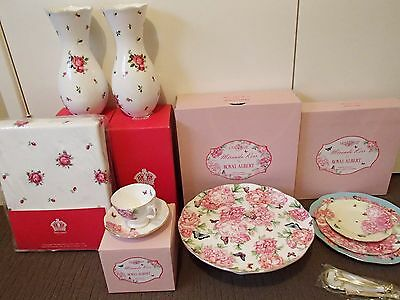 **BRAND NEW**:   ROYAL ALBERT & (for) MIRANDA KERR: **CHINAWARE** (6 pieces)