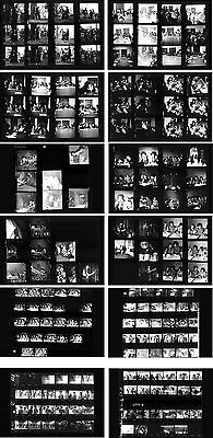 Jimi Hendrix Hamburg 1967 & Fehmarn 1970, 12 pages photo negative contact sheets