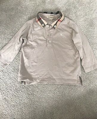 Toddler Burberry 18month Long sleeve Top