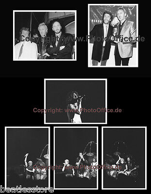 The Who, Daltry, Townshend, Entwistle, 6 rare photos from negatives, Concert