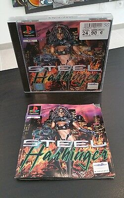 Jeu Steel Harbinger PS1 Playstation Pal Complet Rare