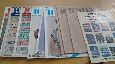To and Fro Knitting machine magazines