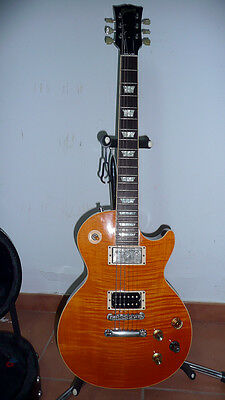 2006 Gibson Les Paul Standard Amber Top A+++!!! w/hardcase