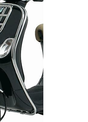 GENUINE Vespa LX Chrome Plated Front Side Protection - Brand New!
