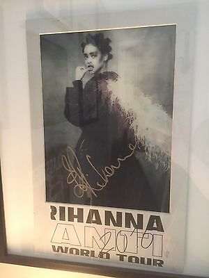 Rihanna Authentic Hand Signed Autograph