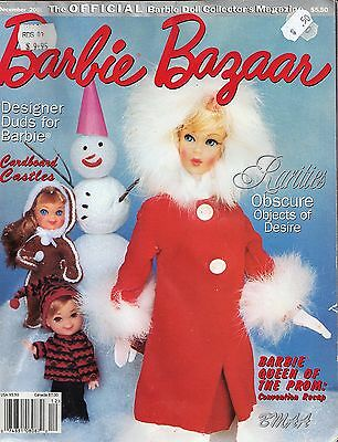 Collector's Encyclopedia of Barbie Doll Exclusives Book and 4 x Barbie Bazaar M