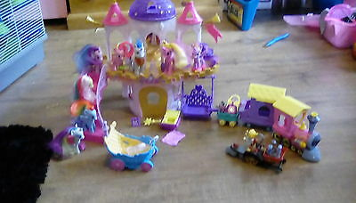 My little pony wedding castle with extras