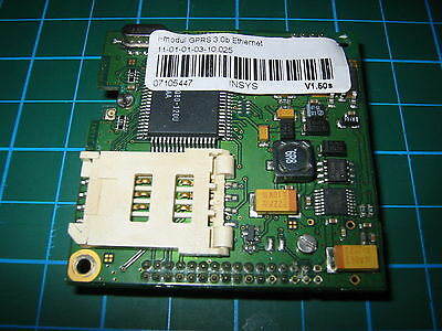 1x INSYS i-modul GPRS 3.0 Ethernet Gateway Router PCB ASIC Arduino Raspberry