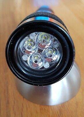 Light for me 4XPG dive torch light lamp 1400 lumen