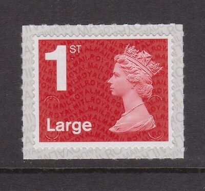 GB MNH MACHIN DEFINITIVE 1st Class Large Red M17L MAIL Self-Adhesive 2017
